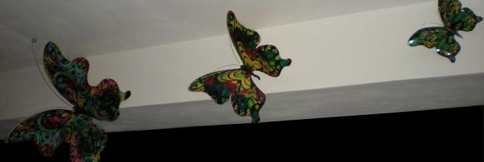 """Installazione - """"Farfalle"""""""